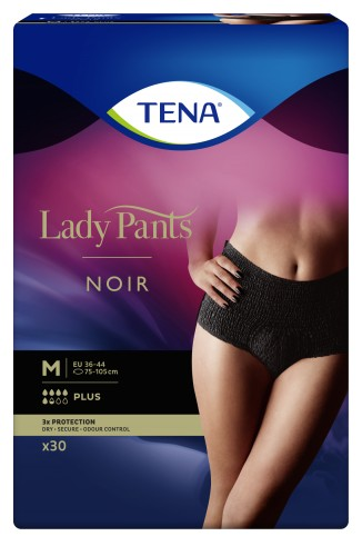 TENA Lady Pants Plus Noir M